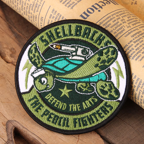 Shellbachs Custom Made Patches