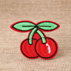 Cherry Custom Made Patches