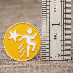 Running Man Lapel Pins