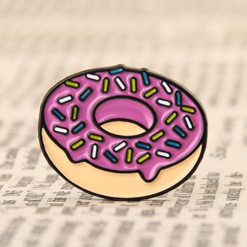 Doughnut Lapel Pins