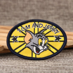 Tom Jerry Custom Patches
