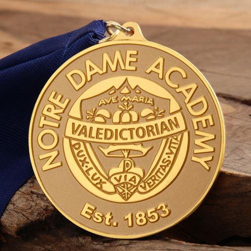Notre Dame Academy Award Medals