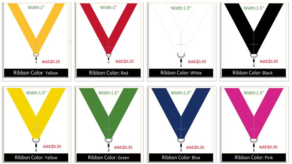 Custom Medal Ribbon-2