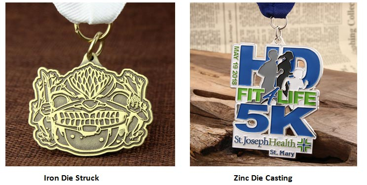 Custom Medals with Diefferent Materials
