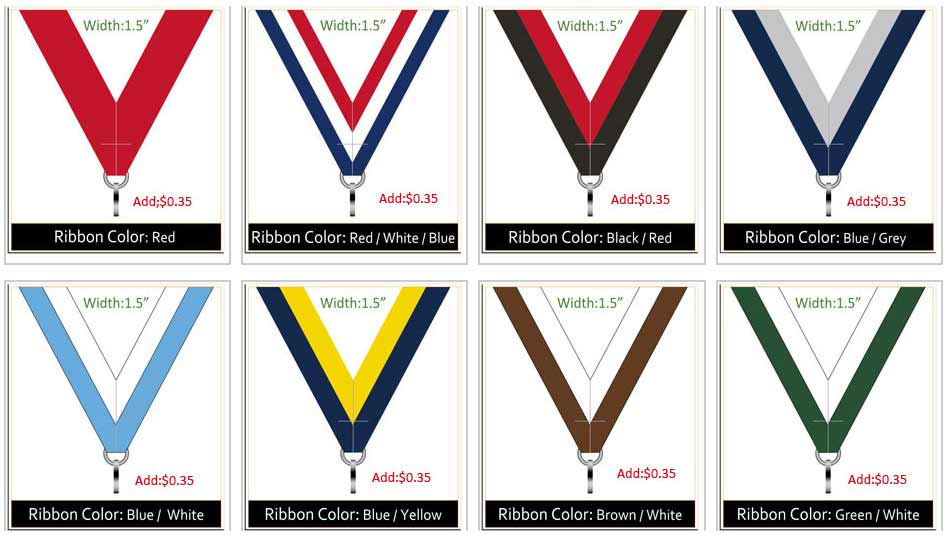 Custom Medal Ribbon-3