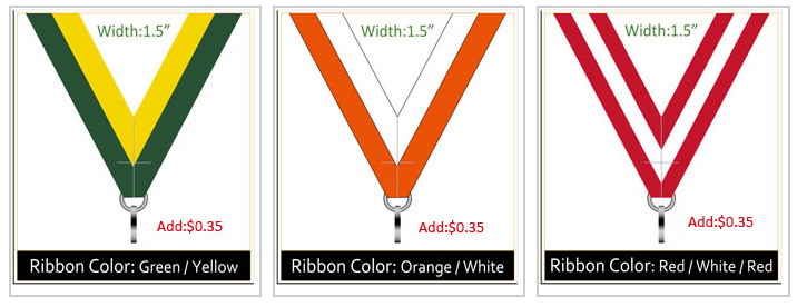 Custom Medal Ribbon-4