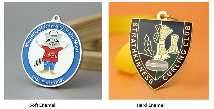 Soft Enamel Medals and Hard Enamel Medals
