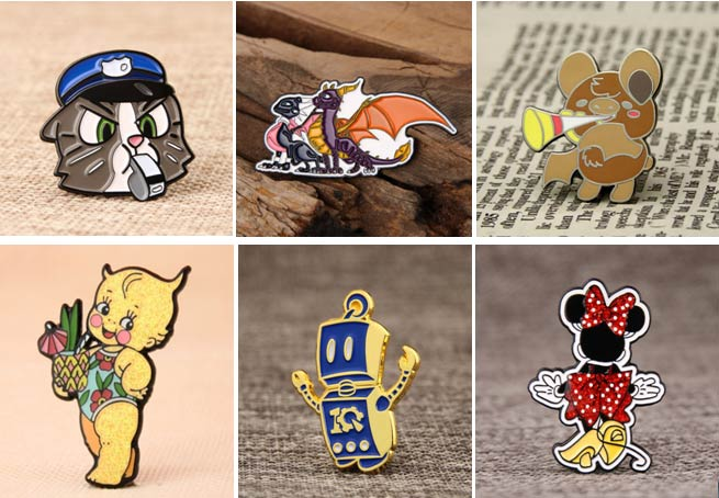 Kid's lapel pins