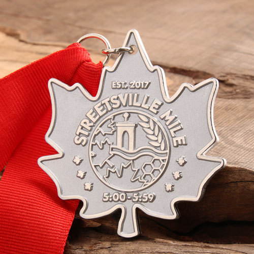 Streetsville Mile Running Medals