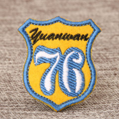 76 Custom Made Patches