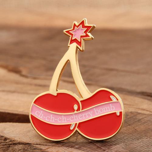 Cherry Custom Pins