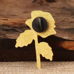 Rose Enamel Lapel Pins