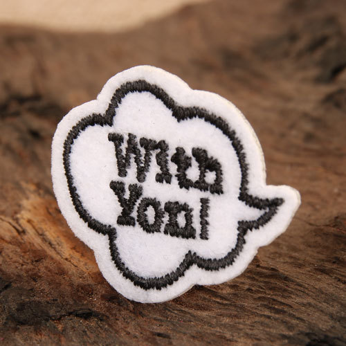 With You Custom Patches