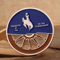 90 LRS Custom Challenge Coins