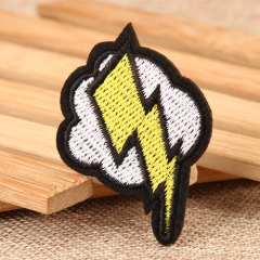 Lightning Custom Embroidered Patches