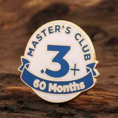 Master's club Lapel Pins