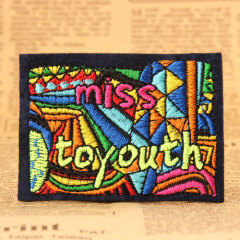 Miss To Youth Custom Made Patches