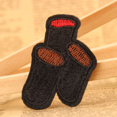 Dustbin Embroidered Patches