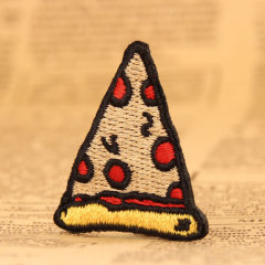 Pizza Custom Embroidered Patches