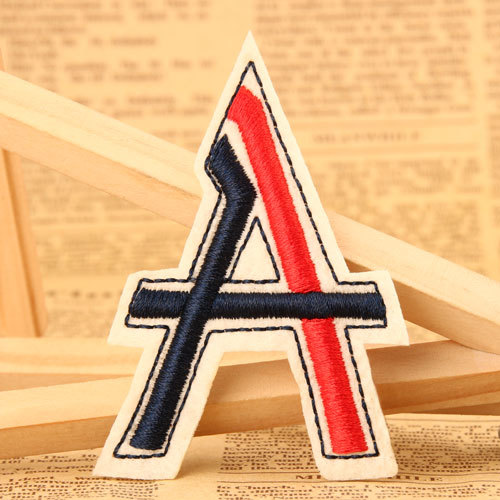 Letter A Custom Made Patches