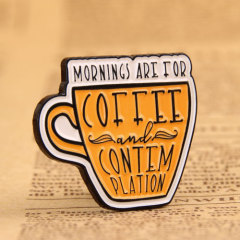 Coffee Custom Lapel Pins