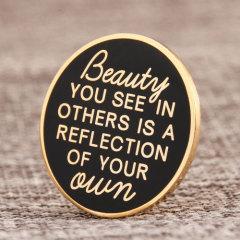 Beauty cloisonné pin