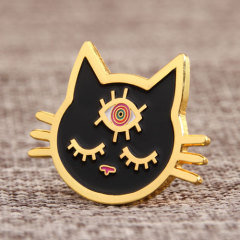 Cat Custom Hat Pins