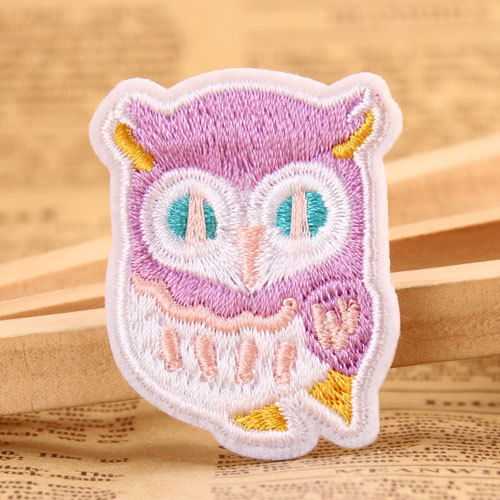 Owl Custom Embroidered Patches