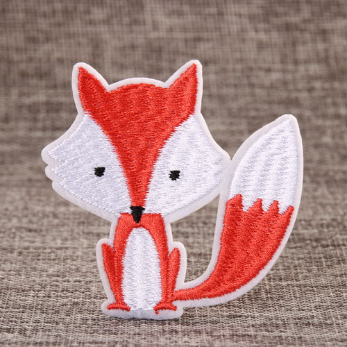 Clever Fox Custom Made Patches