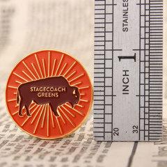 Stagecoach greens shirt pins