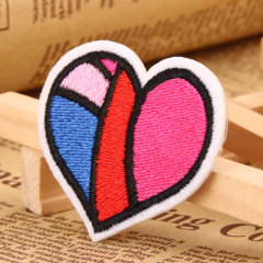 Warm Heart Custom Made Patches