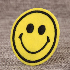 Smile Custom Embroidered Patches