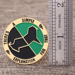 Explanation custom enamel pins