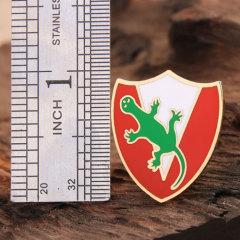 Shield custom enamel pins