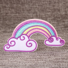 Rainbow Embroidered Patches