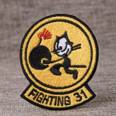 Fighting 31 Embroidered Patches