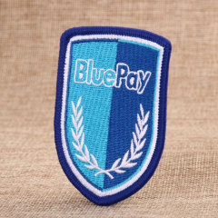 Bluepay Custom Embroidered Patches