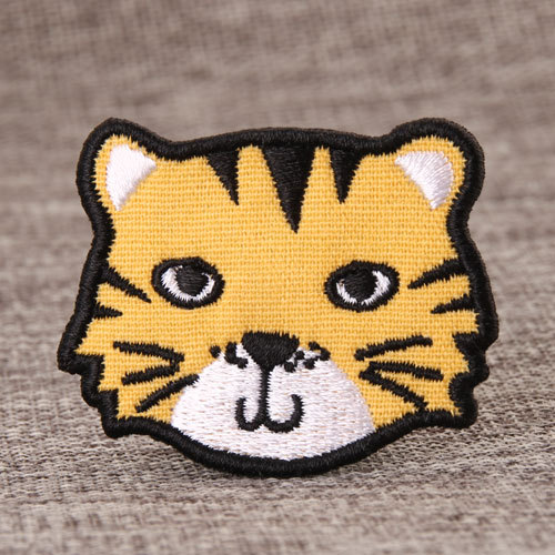 Tiger Custom Made Patches