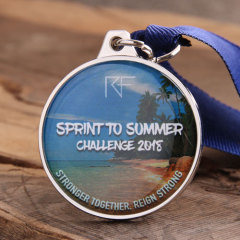 Spring to Summer Challenge Custom Medals