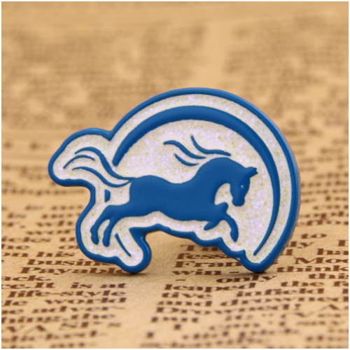 Mercedes-benz horse custom pins