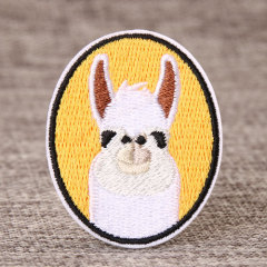 Serious Goat Custom Made Patches