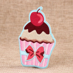 Cup Cake Custom Embroidered Patches