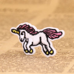Pink Horse Custom Patches
