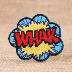 WHAK Custom Embroidered Patches