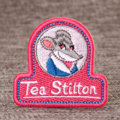 Tea Stilton Custom Patches