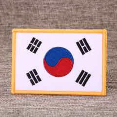 National Flag Custom Made Patches