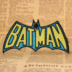 BATMAN Custom Embroidered Patches