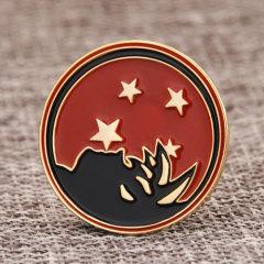 Starry sky custom enamel pins