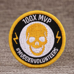 100X MVP Custom Embroidered Patches