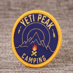 Yeti Peak Embroidered Patches